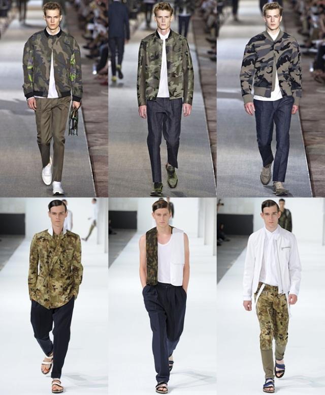 Варианты камуфляжной одежды для мужчины
