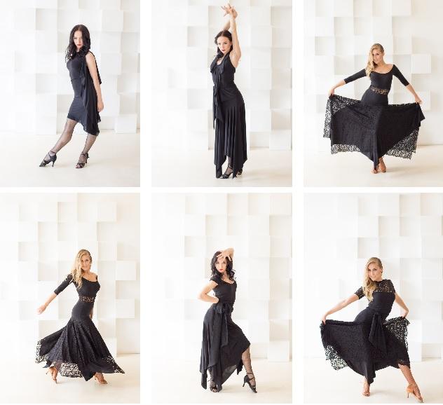 Варианты танцевальное одежды