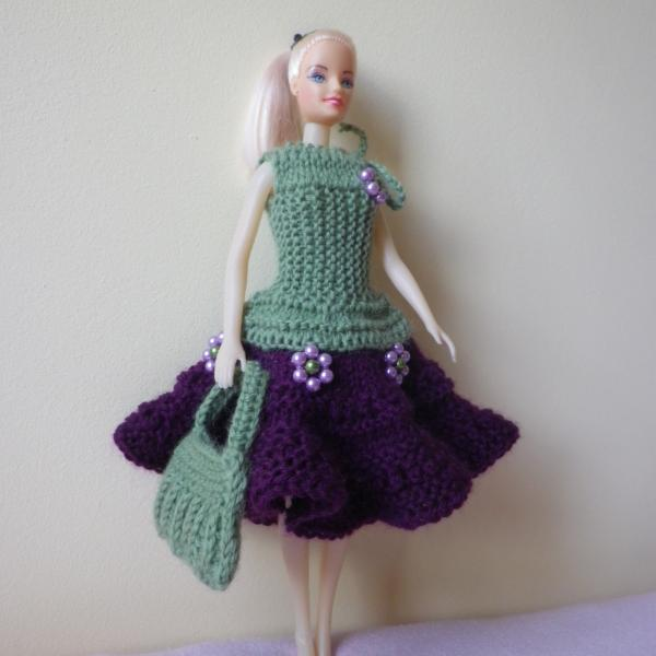 Вязанное платье своими руками