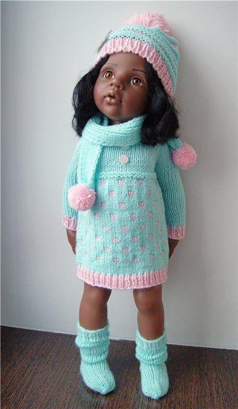 Вяжем своими руками одежду для кукол
