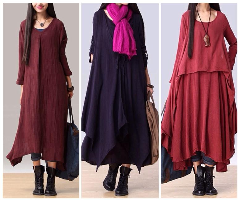 Выбираем длинное платье