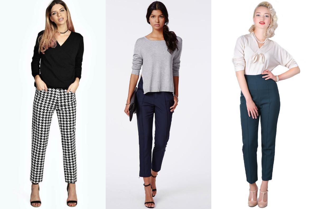 Выбор брюк для женщины