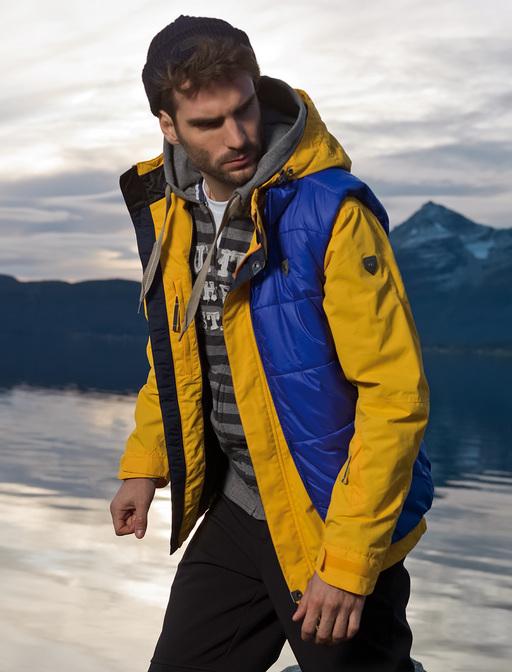 Выбор мужской современной куртки