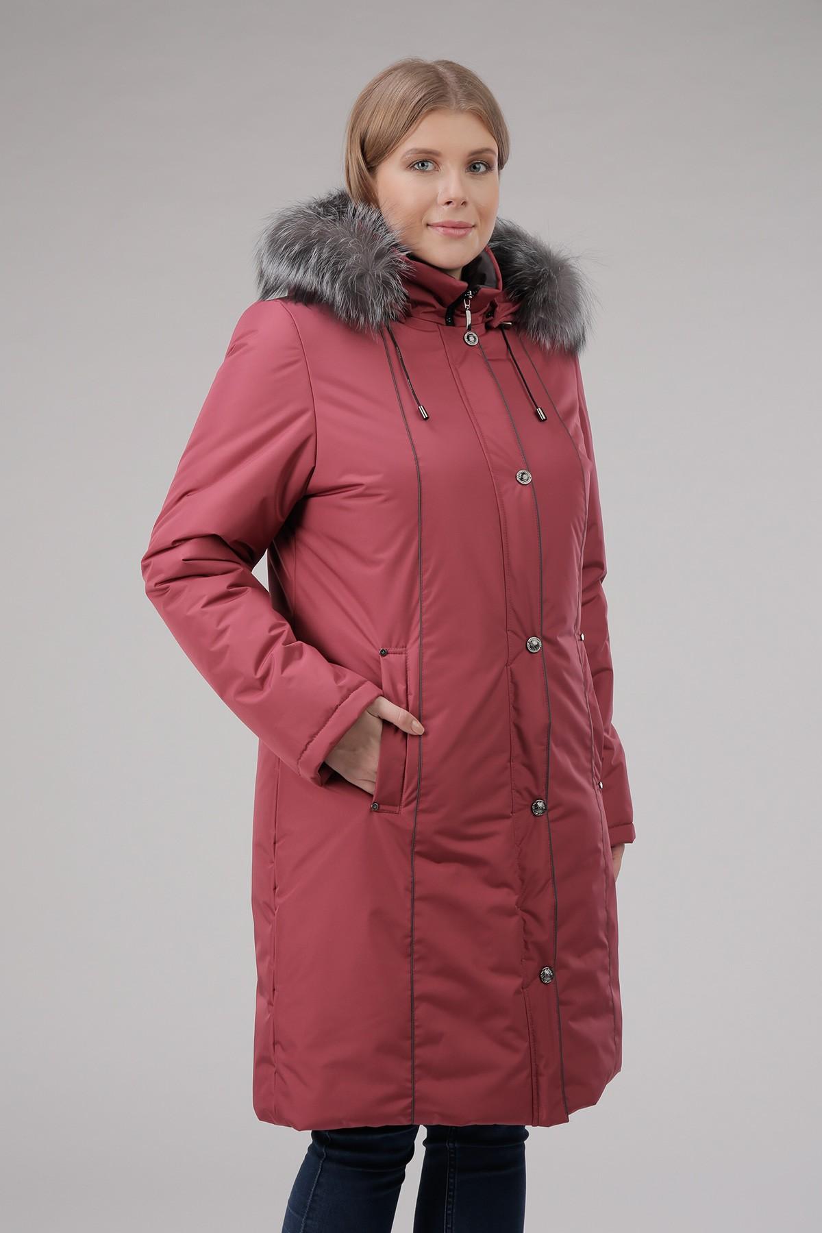 Женская куртка на теплом пуху