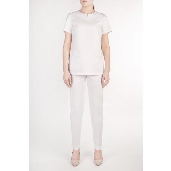 Женская медицинская блуза и штаны