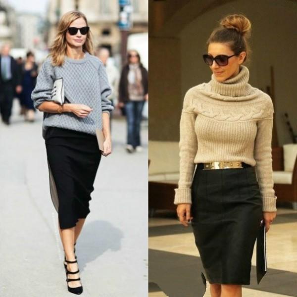 Женская офисная мода