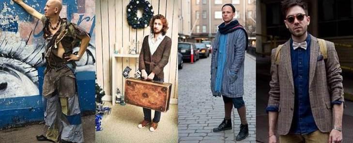 Зимний вариант одежды для мужчины