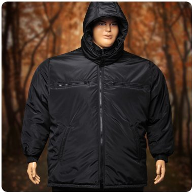 Зимняя куртка для полных мужчин