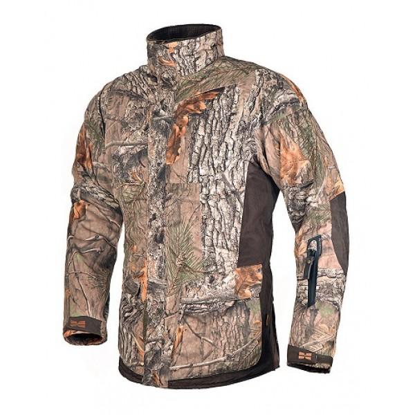 Зимняя куртка хаки для леса