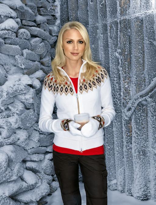 14a0404171c Зимняя теплая куртка белого цвета · Финская одежда для женщины
