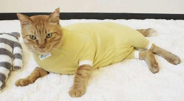 желтая ночная пижама