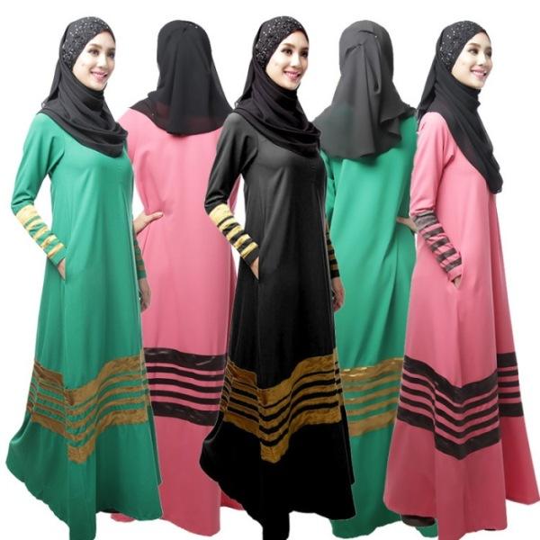 Длинное платье с платком