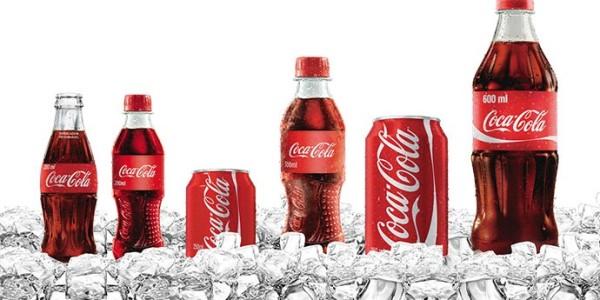 Газированная напитка Coca Cola