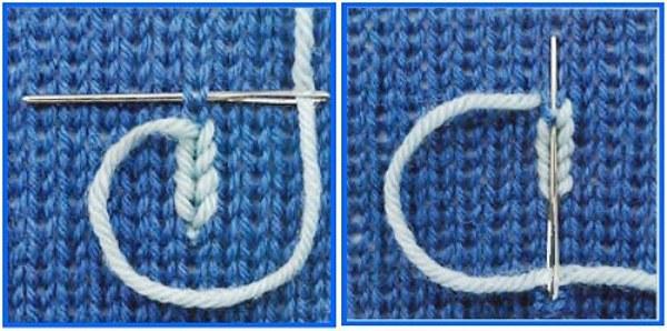 Ремонт вязанной одежды