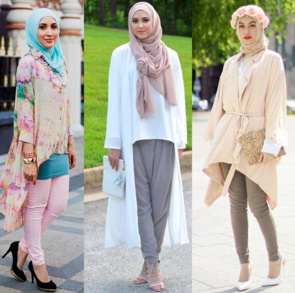 Одежда в свободном стиле