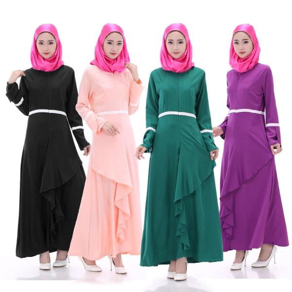 Цветные платья с длинными рукавамы