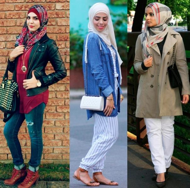 Повседневная одежда для мусульманок
