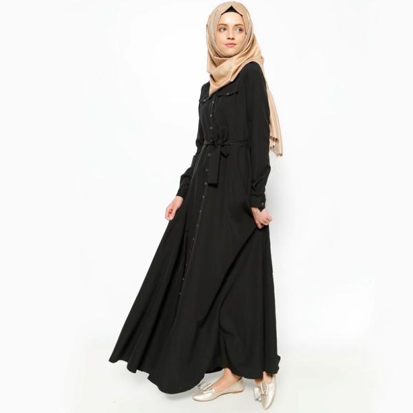 Скромный женский наряд
