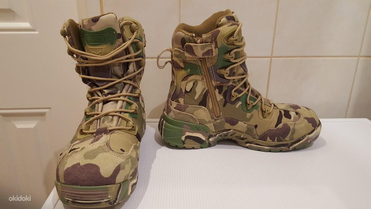 Ботинки тактические камуфляж для работы охоты и рыбалки