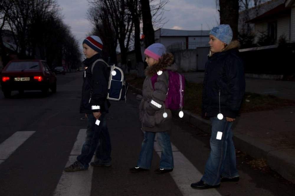 Дети на переходе