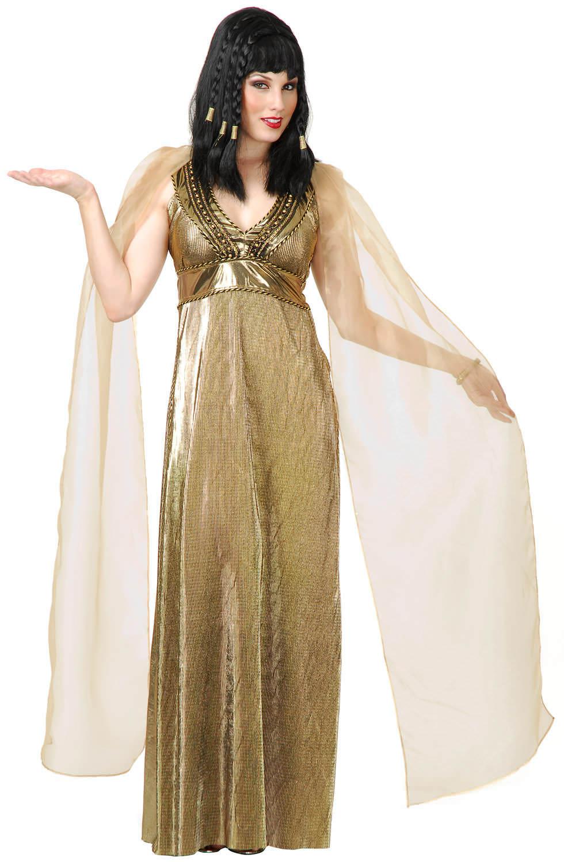 Длинное платье с египетскими нотками