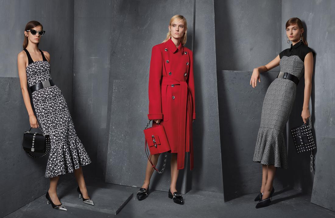 Дорогая брендовая одежда в гардеробе