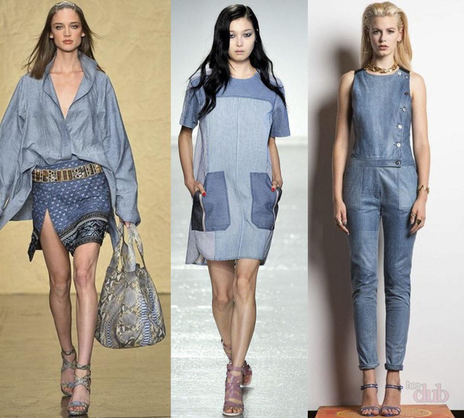 Джинсовый стиль женской одежды