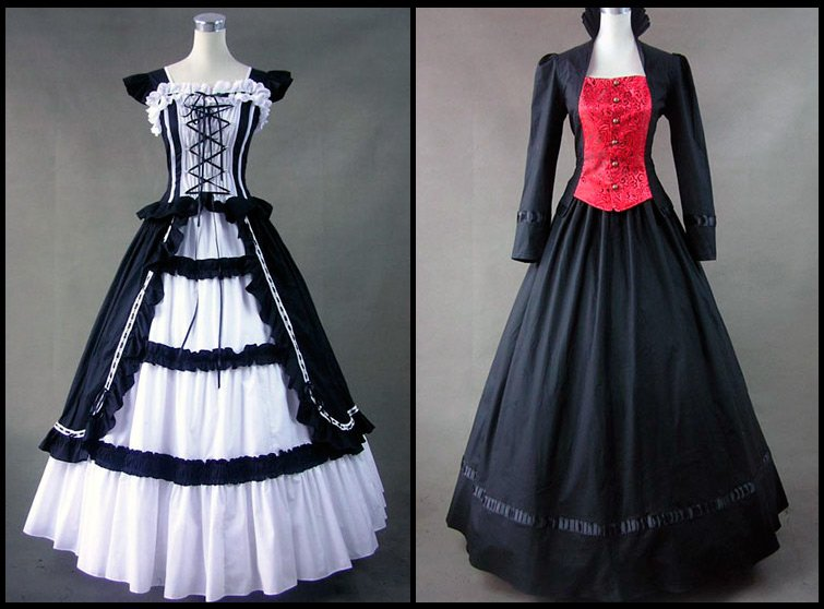 Готический стиль в одежде средневековья