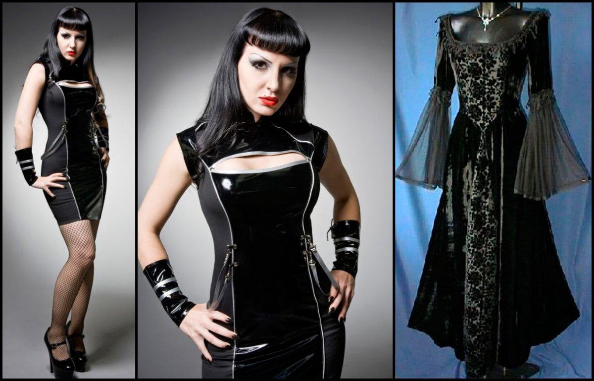 Готический стиль в современной одежде