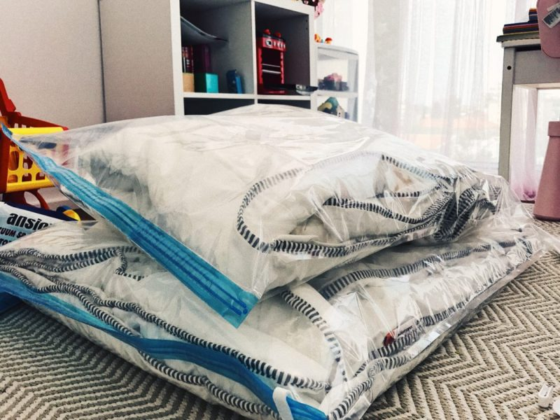 Хранение постельного белья
