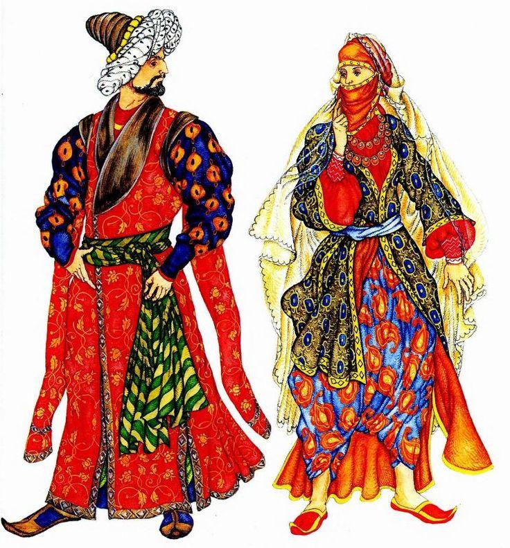 История турецкого национального костюма