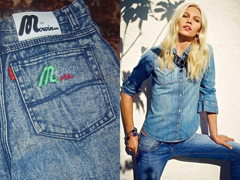 Какие джинсы носили в девяностые