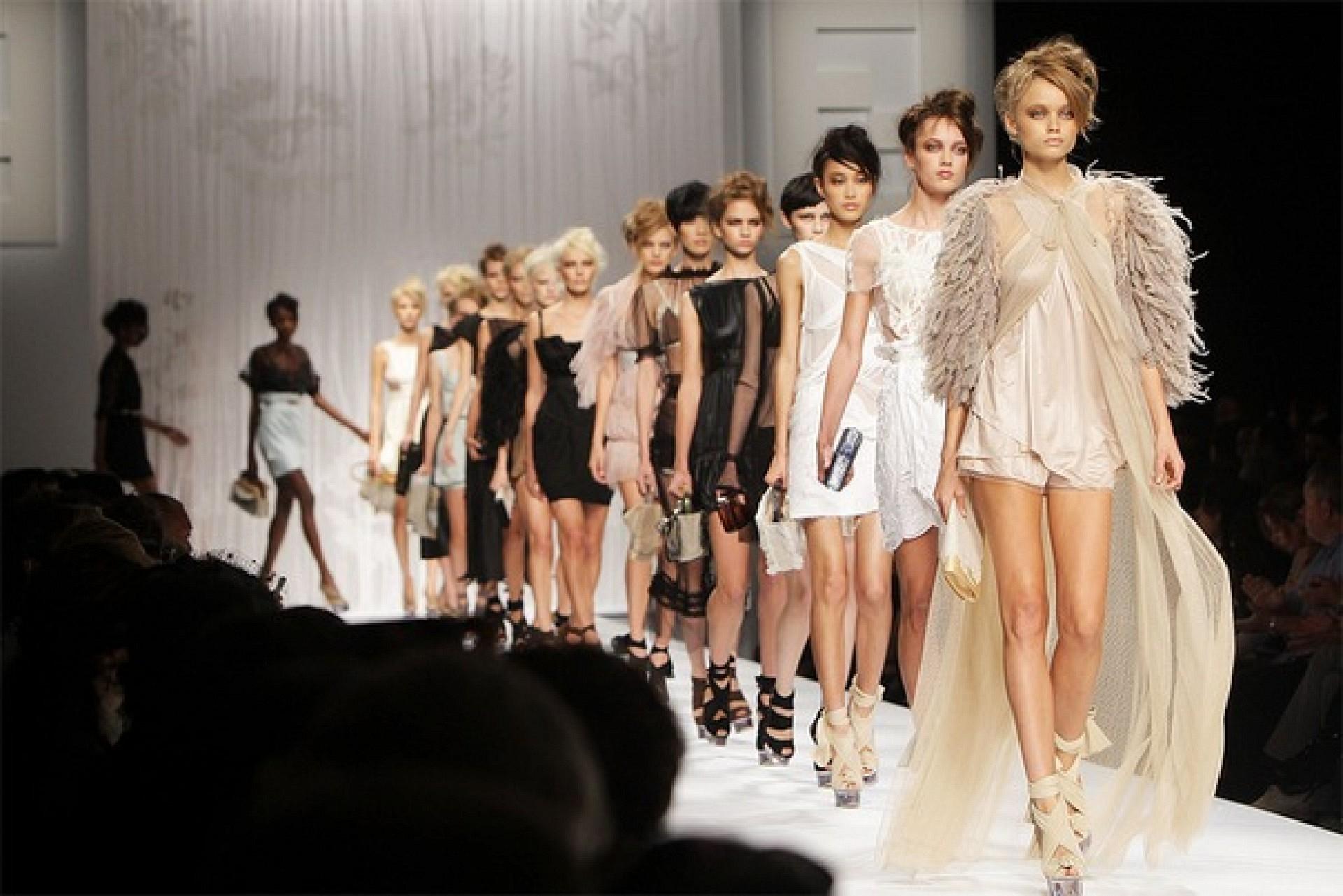 Кастинг моделей для показа одежды