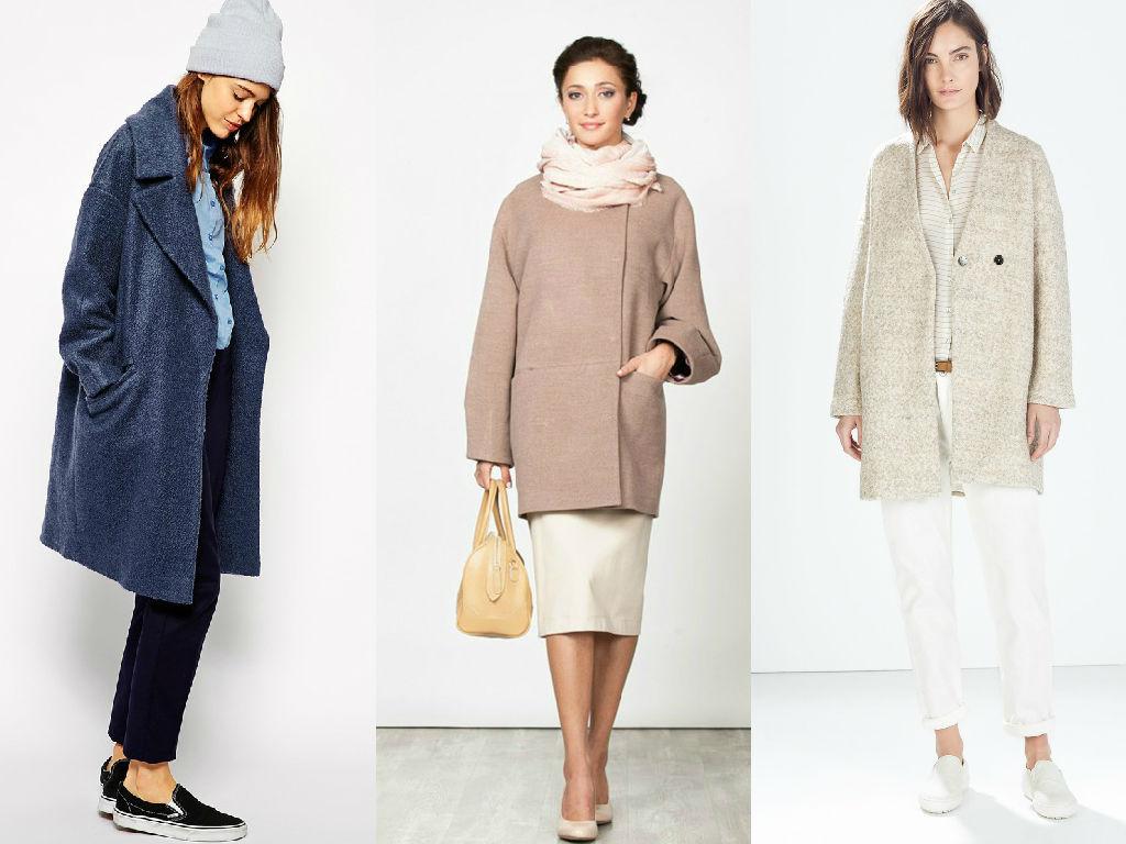 Каждая женщина без труда сможет выбрать яркое или классическое пальто в стиле оверсайз