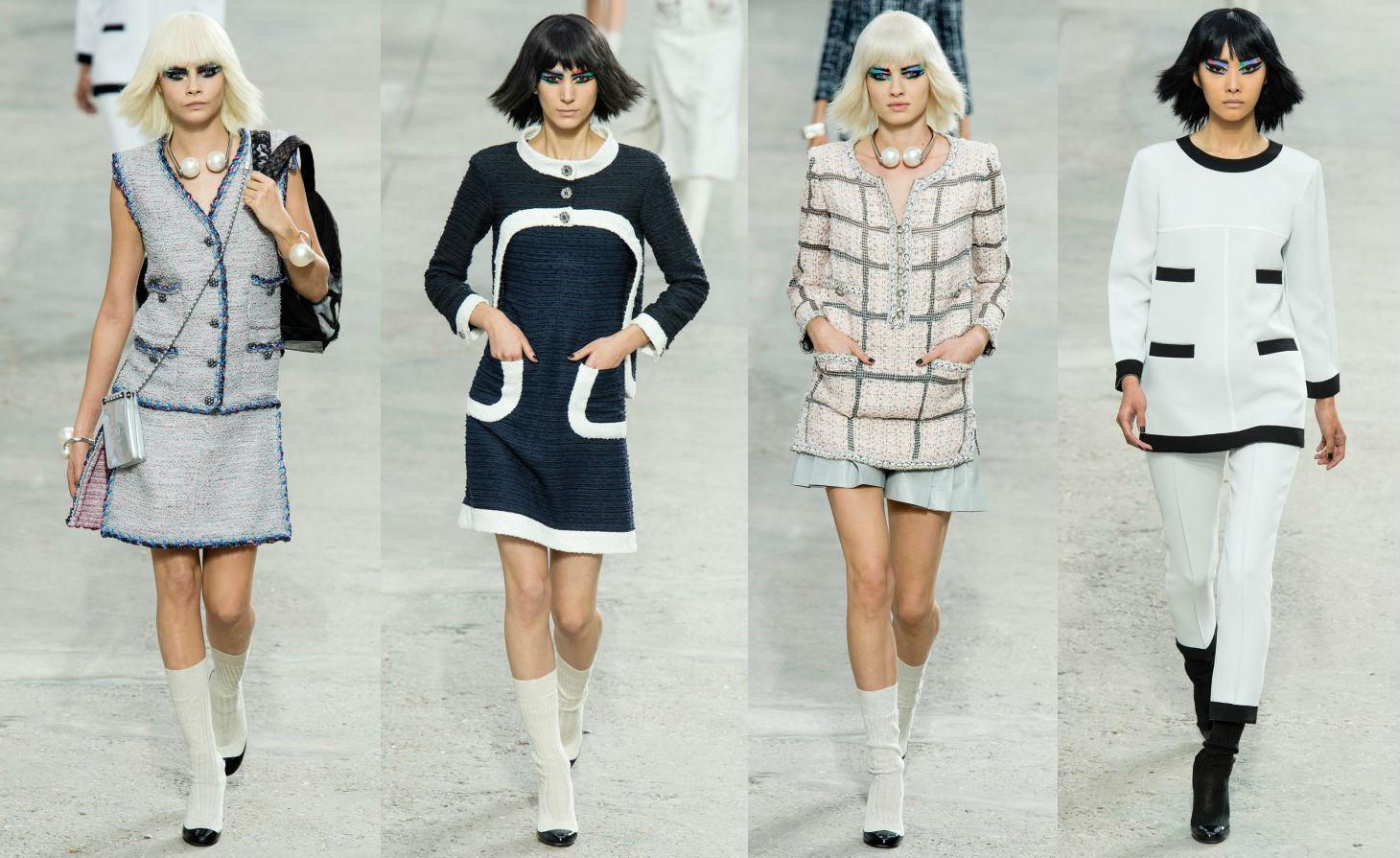 Коллекция женской одежды Chanel