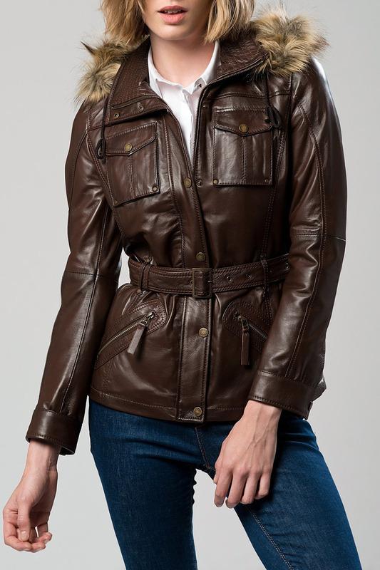 Кожаная куртка Derimod
