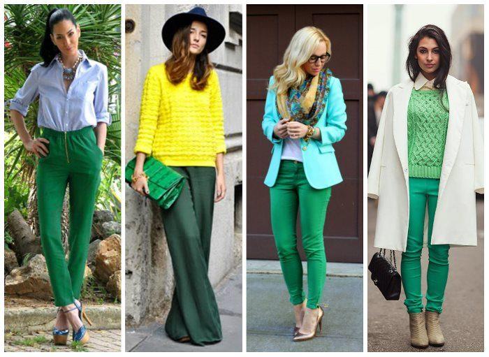 Красота зеленого цвета
