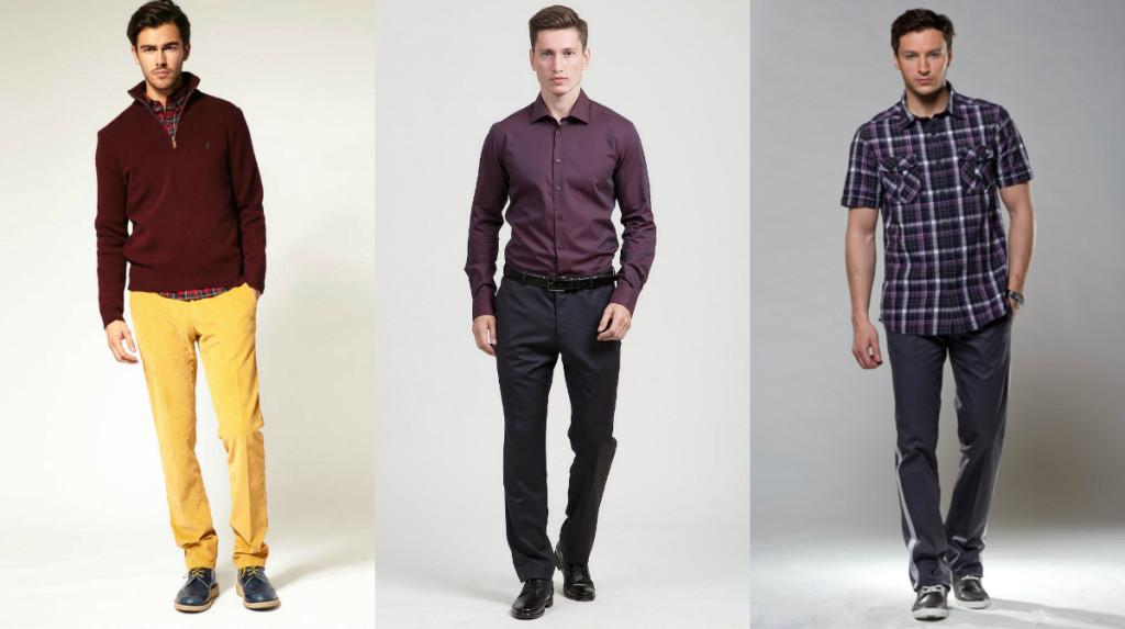 Линейки размеров мужской одежды