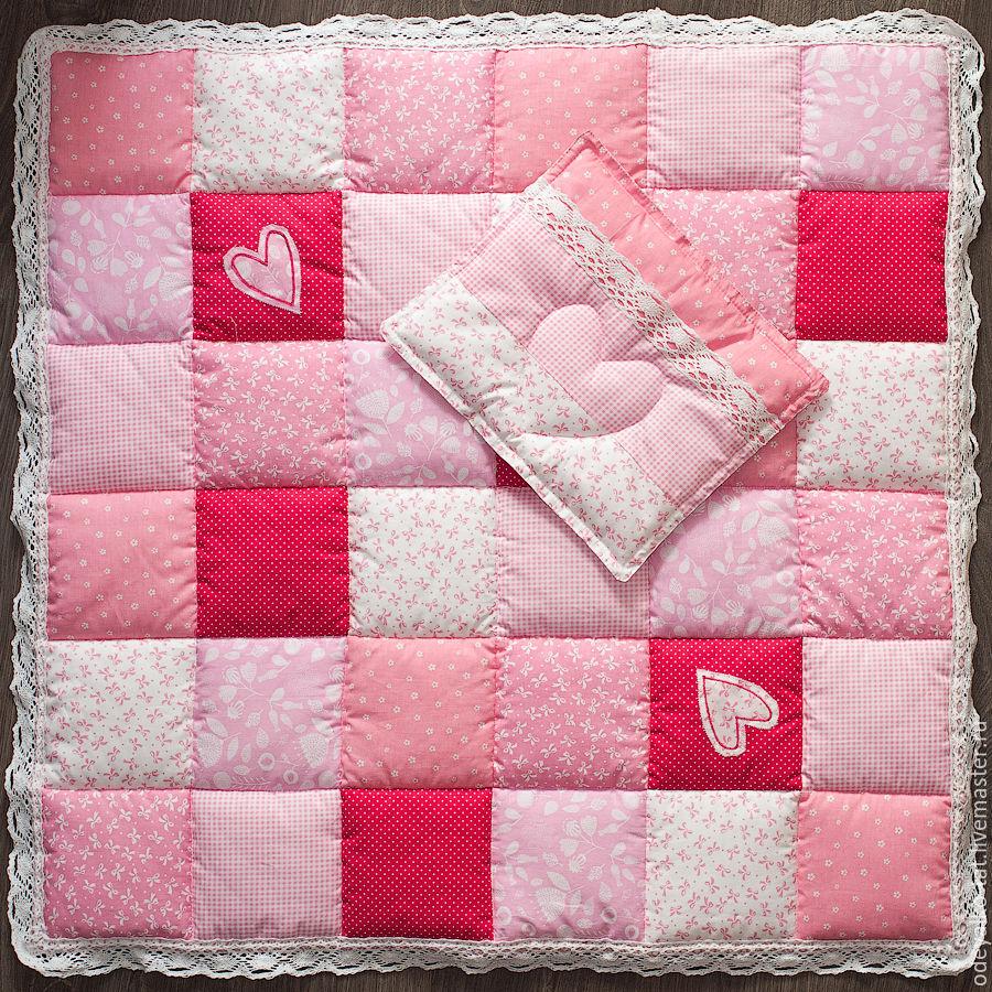 Лоскутное одеяло для новорожденных