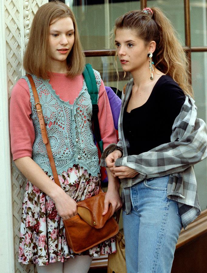 Мода и стиль в 1990 годы
