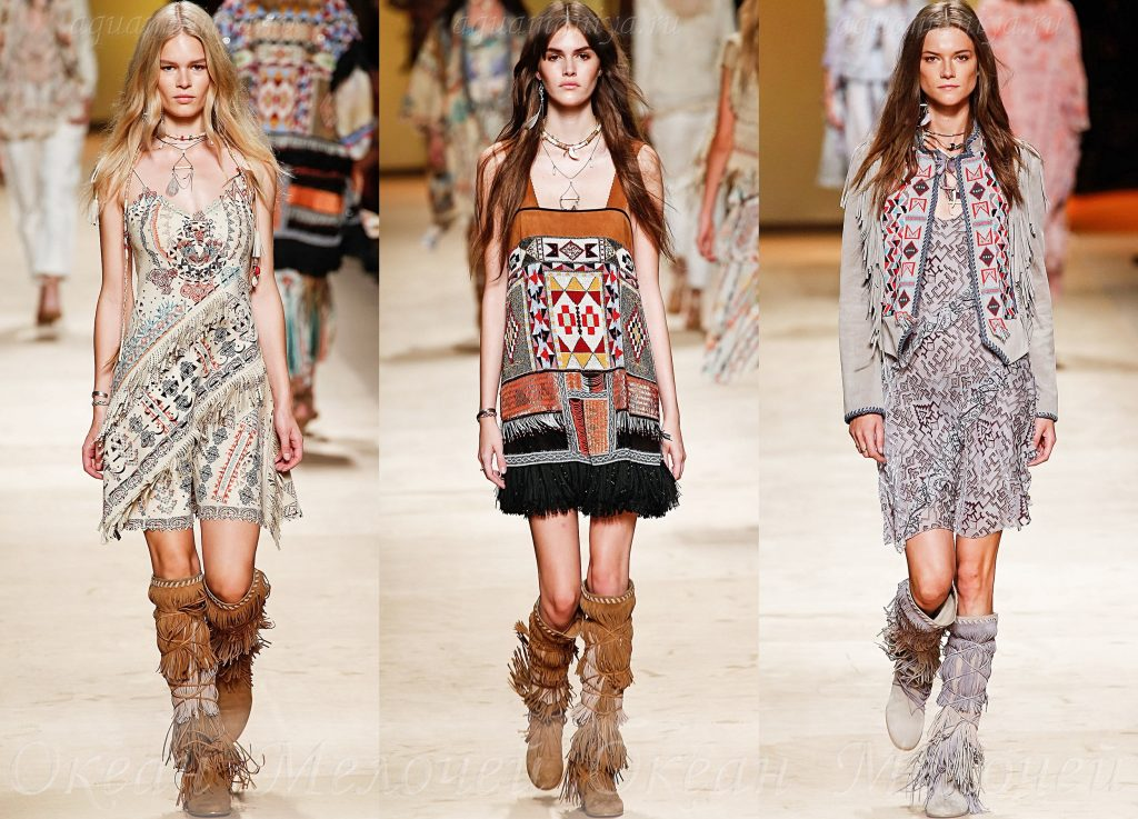 современная и модная этническая одежда с фото случилось