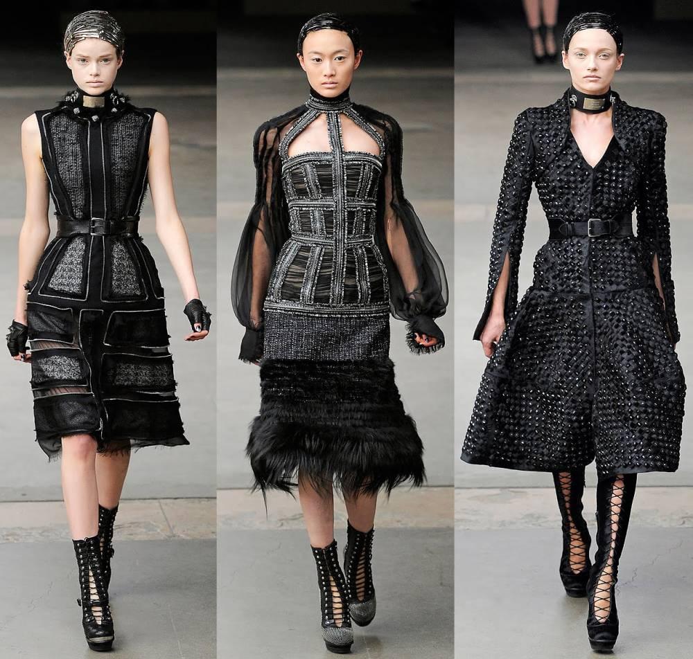 Модная готическая одежда
