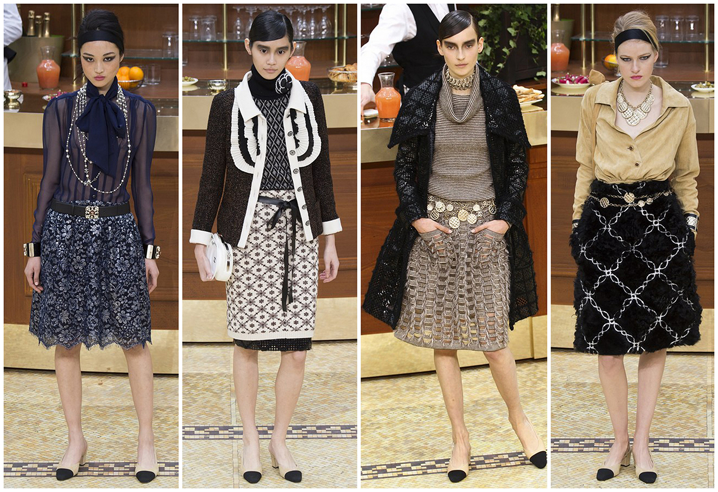 Модная одежда Chanel Осень-зима