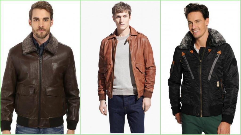 Модная верхняя одежда для мужчин осень-зима