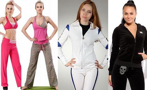 Модные спортивные костюмы