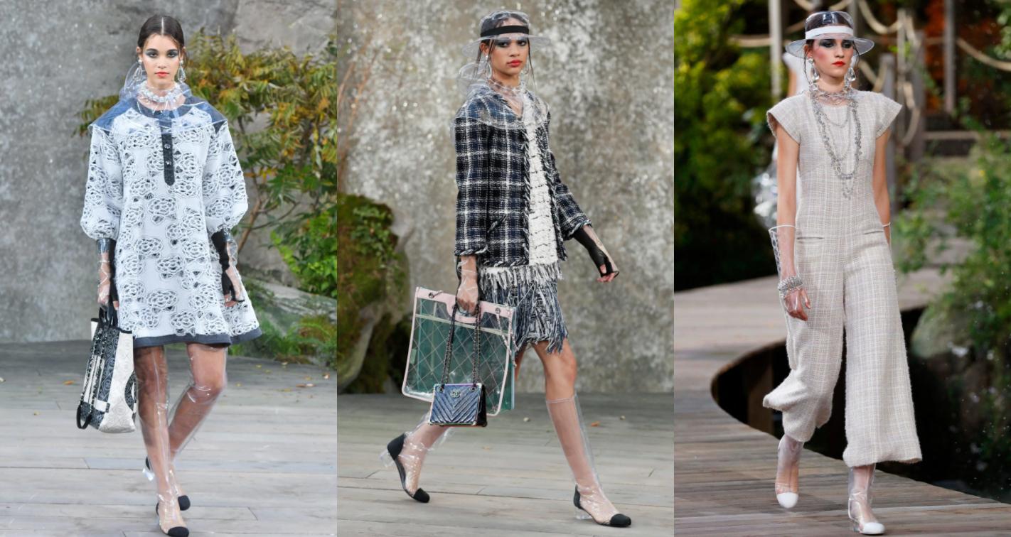 Модный дом Chanel совместно с дизайнером Карлом Лагерфельдом представил новую коллекцию