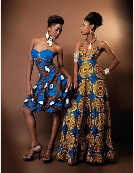 Наряды в африканском стиле