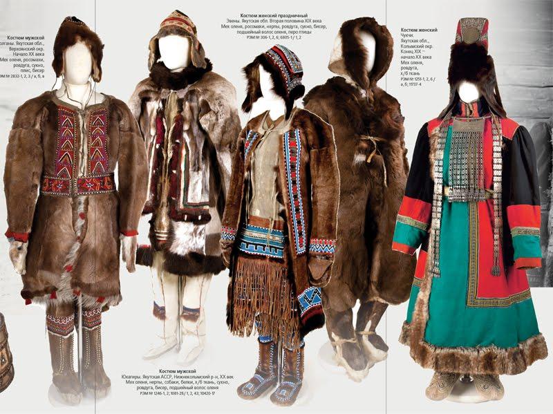 Национальные наряды северных народов