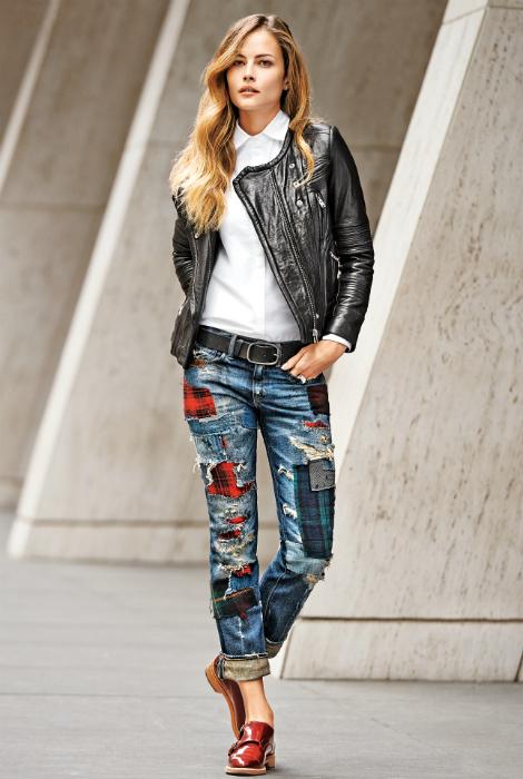 Обновленные джинсы