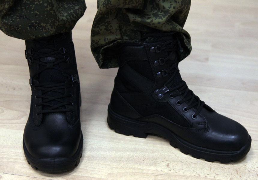 Обувь военнослужащего